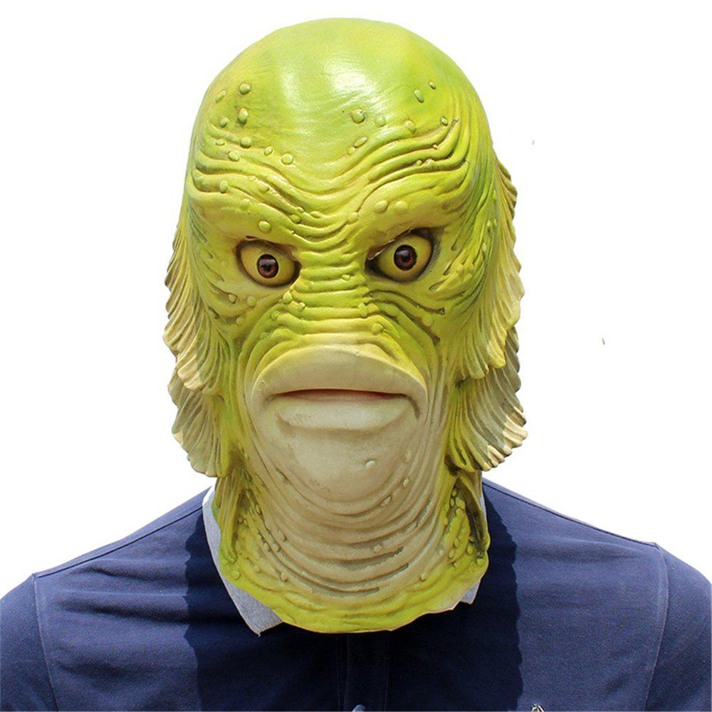 Halloween Cosplay Strange Fish Head Mask для Fancy Ball Party Show