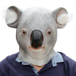 Halloween Cosplay Animal Koala Masque Tête En Latex -