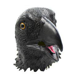 Halloween Animal Eagle Head Latex Mask for for Funny Ball Party Show -