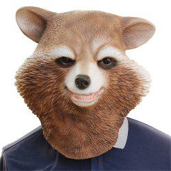Halloween Cosplay Bear Latex Head Mask for Funny Party Show -