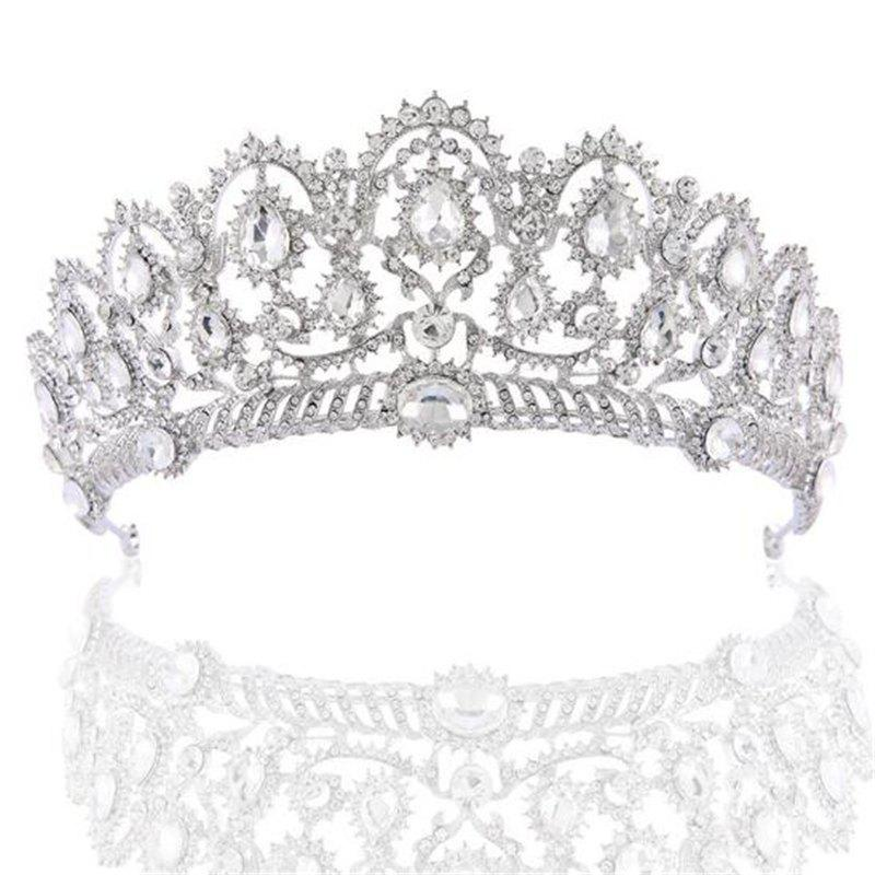 Outfit Bridal Headdress Rhinestone Popular Luxury Bride Headband