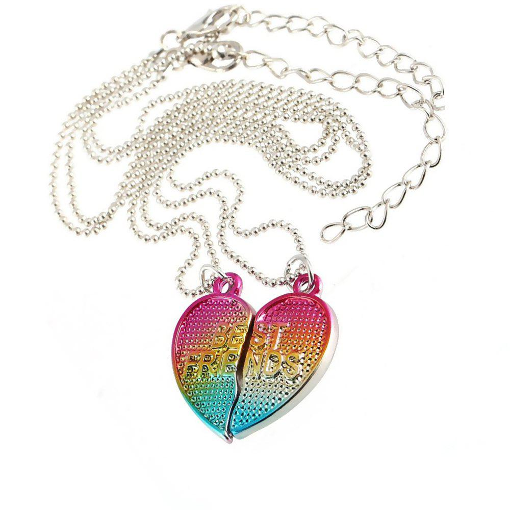 Shops Best Friendship Jewelry Heart Pendant Kids Necklaces