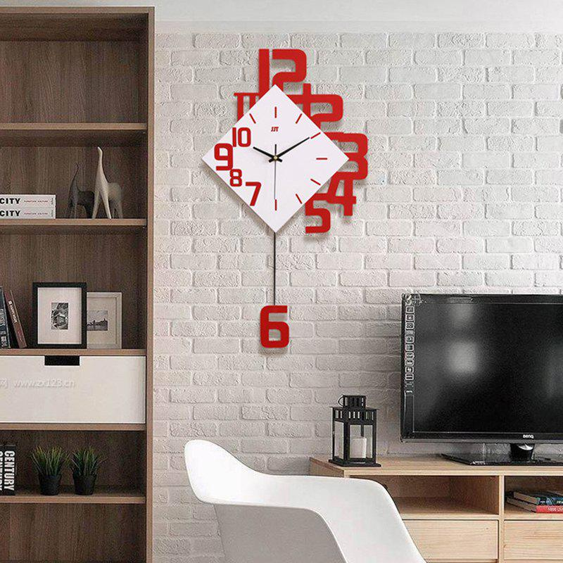 Affordable Modern / Contemporary Wood Novelty AA Batteries Powered  Wall Clock