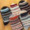 5 Pair of Warm Sweater Ladies' Striped Socks -