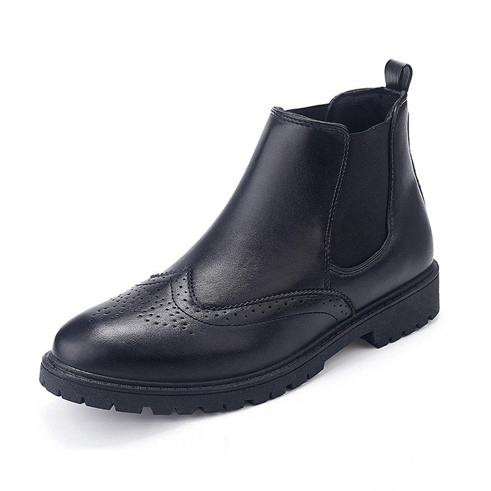 Sale Men Casual Gentle Solid Classical Boots