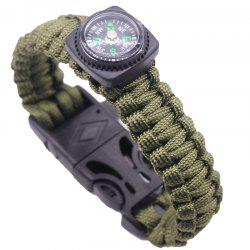Survival Emergency Wilderness Climbing Bracelet -