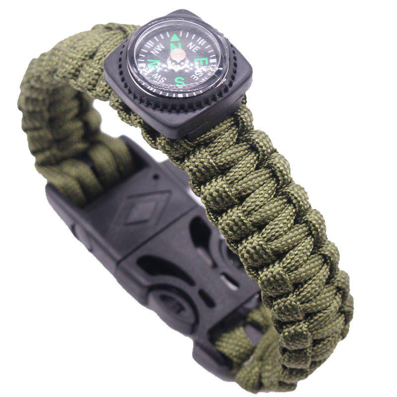 Latest Survival Emergency Wilderness Climbing Bracelet