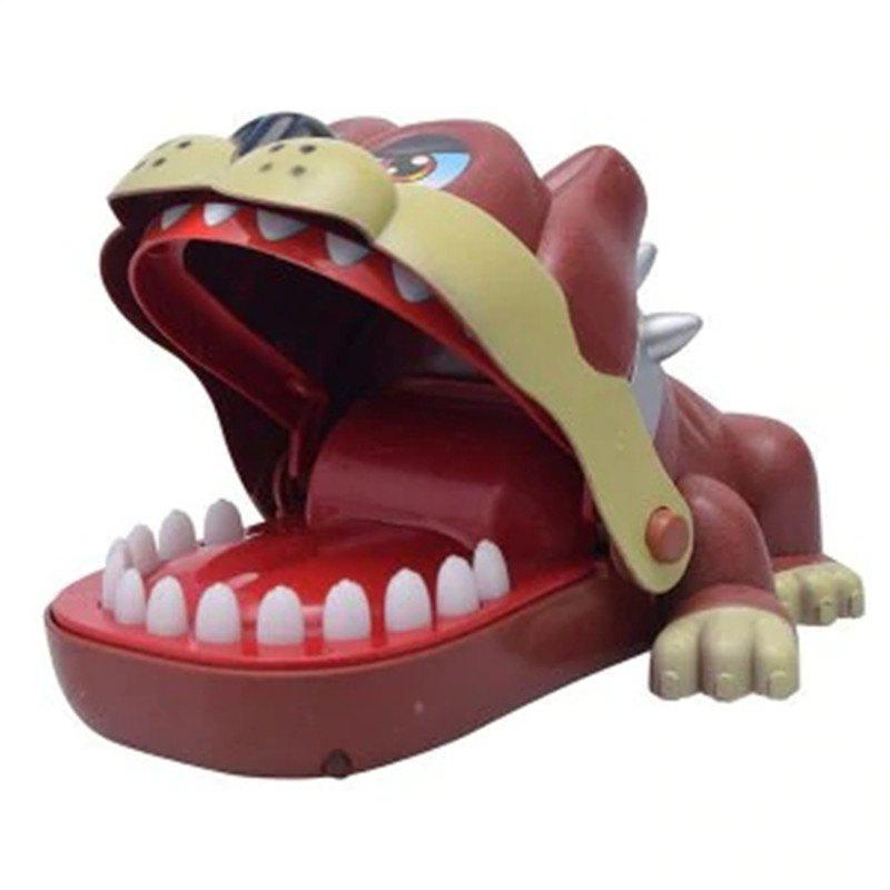 Shop Funny Big Mouth Dog Bite Finger Attention Fidget Toy