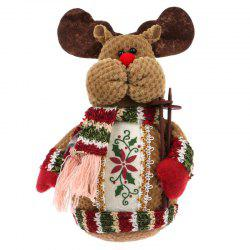 Lovely Doll Snowman Christmas Gift Toy -