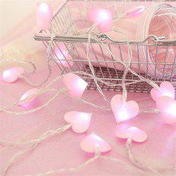 LED Lights Girl Heart 1.5 Meters 10 Lights -