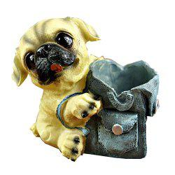 Cartoon Dog Doll with Cowboy Backpack Pen Holder -