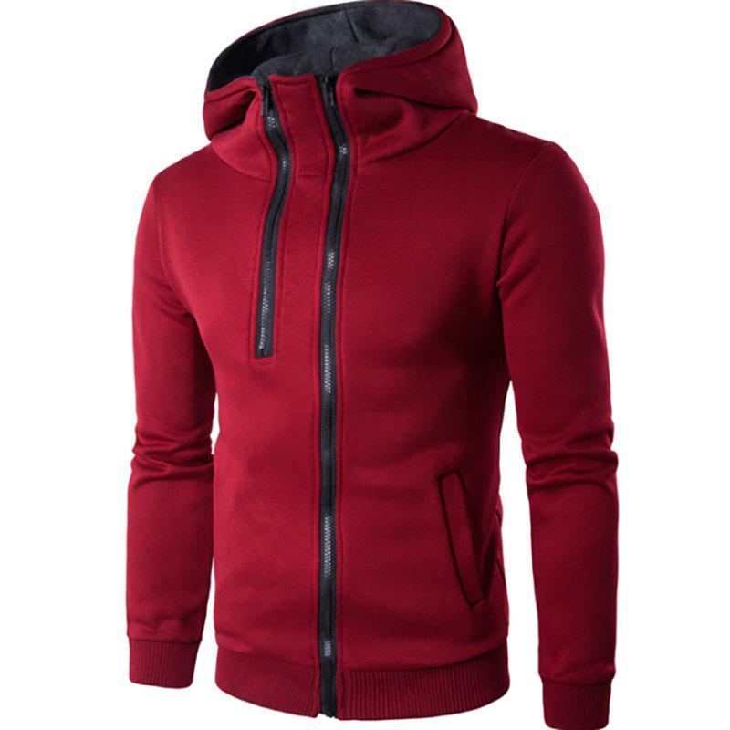 Hoodies Casual Design Zipper Homme