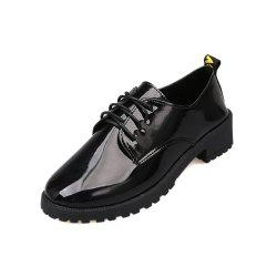 Lace Up Flat Bottomed Chaussures Décontractées -