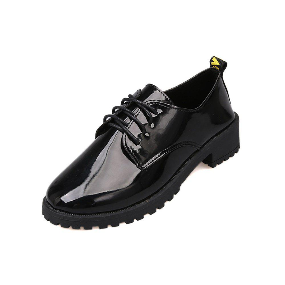 Lace Up Flat Bottomed Chaussures Décontractées