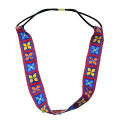 Fashion Colorful Geometric Elastic Hairband for Women -