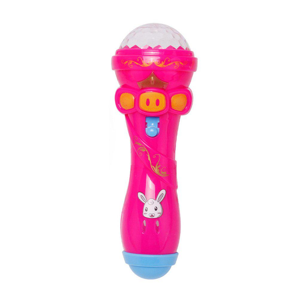 Best Emulated Music Toys Funny Lighting Wireless Microphone Model