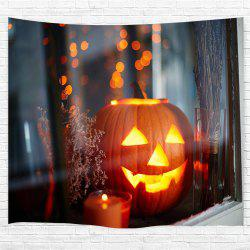 Windowsill Pumpkin 3D Printing Home Wall Hanging Tapestry for Decoration -