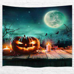Wooden Pumpkin Candle 3D Printing Home Wall Hanging Tapestry for Decoration -