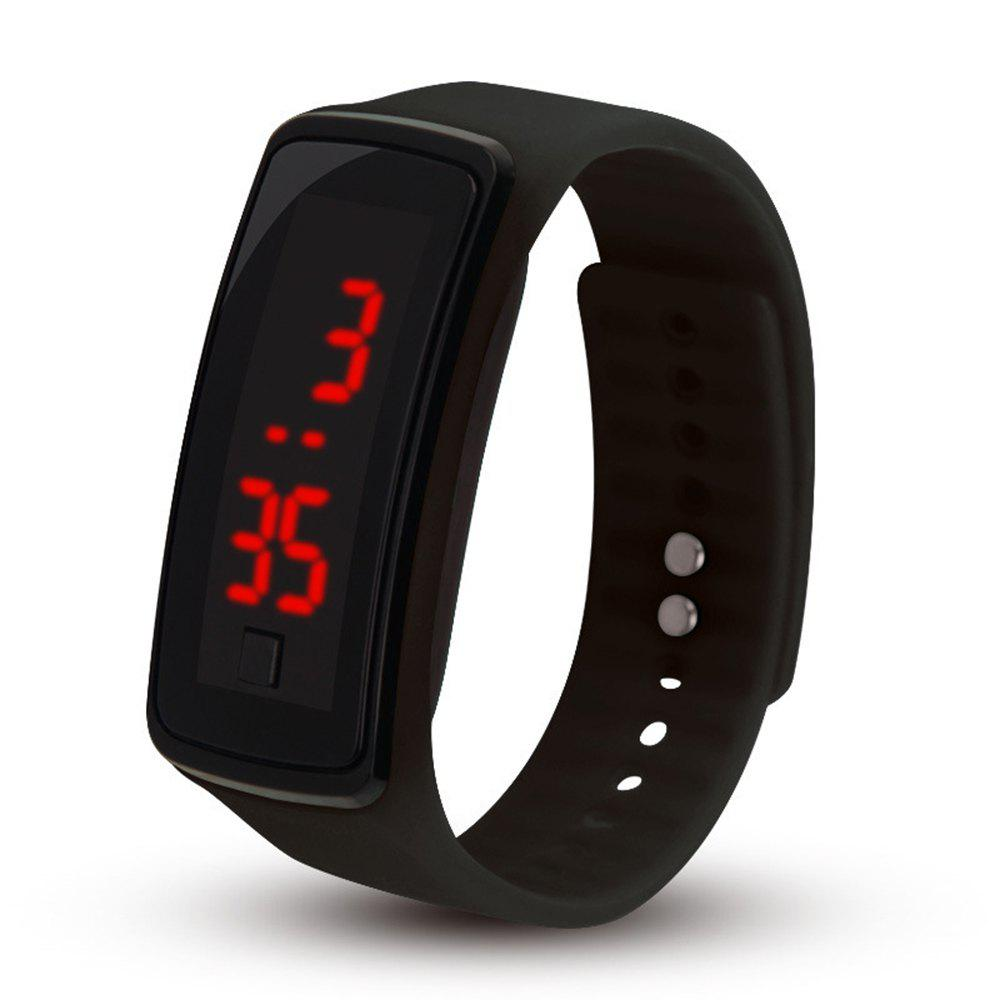 Latest LED Electronic Watch Children's Male And Female Students Sports Watch