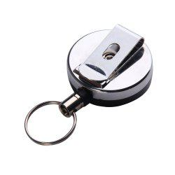 Portable Outdoor Anti Lose/Theft Telescopic Key Buckle -