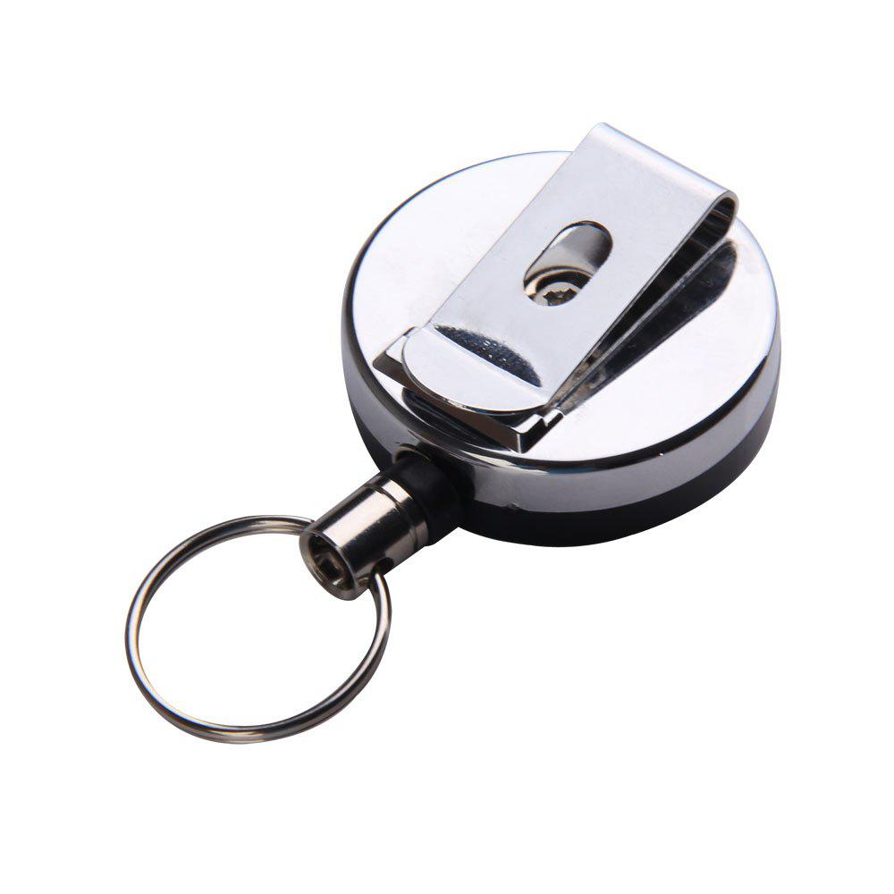 New Portable Outdoor Anti Lose/Theft Telescopic Key Buckle