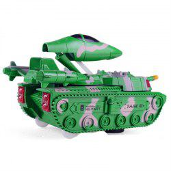 Deformation Universal Tank Deformation Aircraft with Sound Effects Model Toys -
