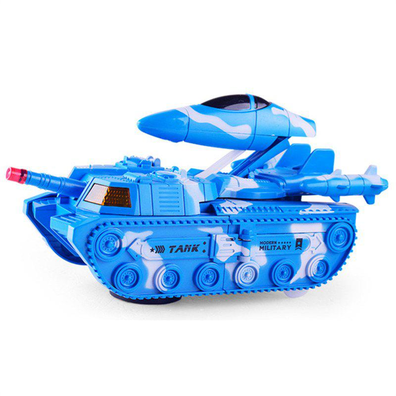 Fashion Deformation Universal Tank Deformation Aircraft with Sound Effects Model Toys