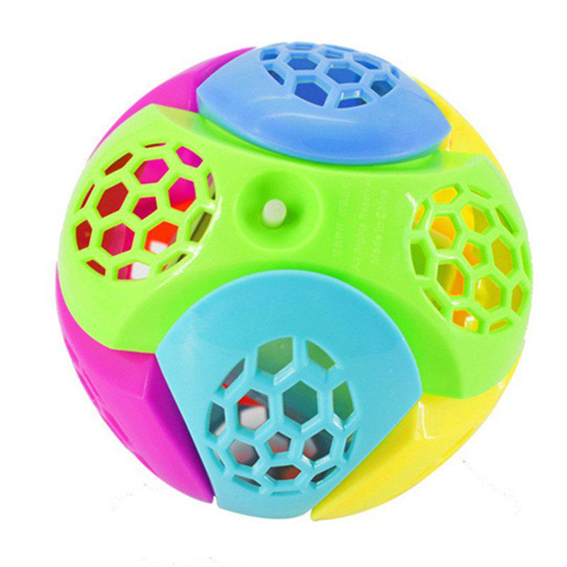 Chic Flash Music Jump Rotate Hot Electric Dancing Ball Toy