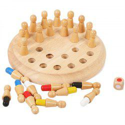 Wooden Memory Match Stick Chess Game Toy -