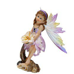 Butterfly Fairy Resin Handicraft Decoration -