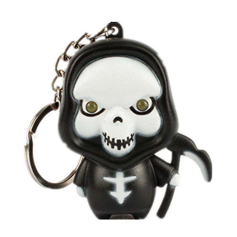 Discount Ghost Reaper LED Illuminated Keychain Halloween Christmas Holiday Gift Pendant