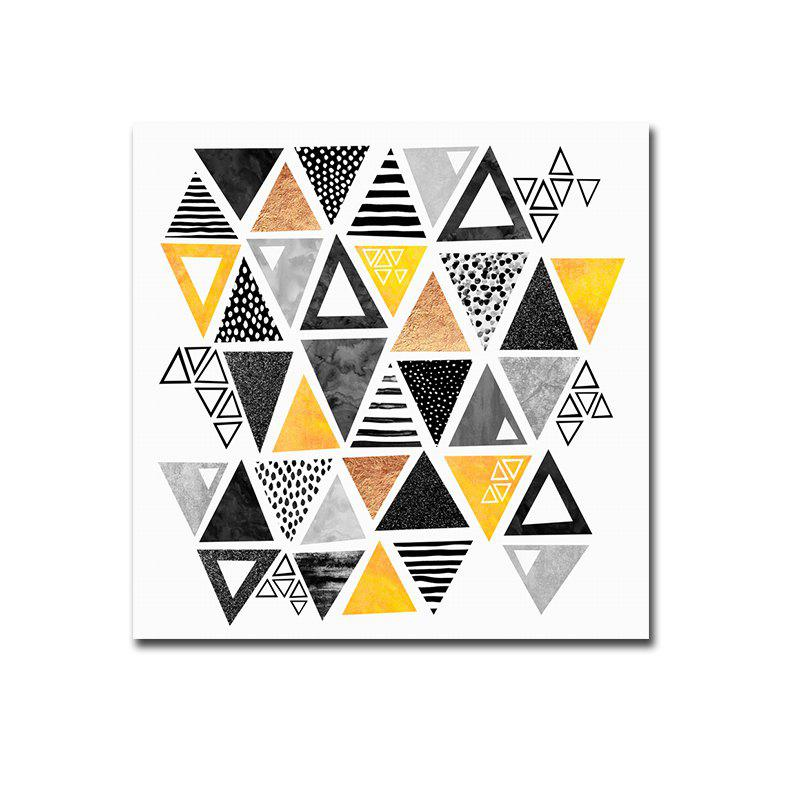 Cheap Framed Canvas Modern Minimalist Nordic Living Room Small Fresh Abstract Print