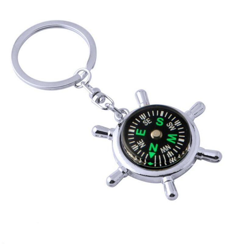 Store Personality Creative Compass Multifunctional Practical  Keychain