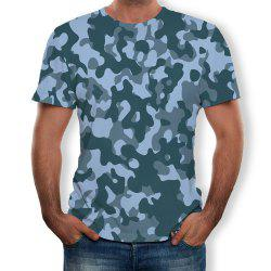 New Round Neck Casual Summer Short-sleeved T-shirt -