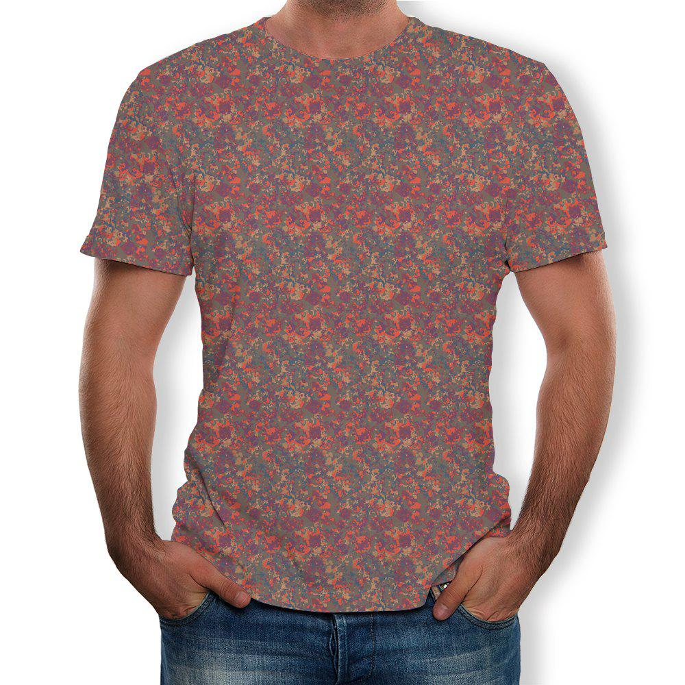 Outfit New Round Neck Casual Summer Short-sleeved T-shirt