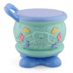 Electric Rotary Hand Drum Early Childhood Music Toy -