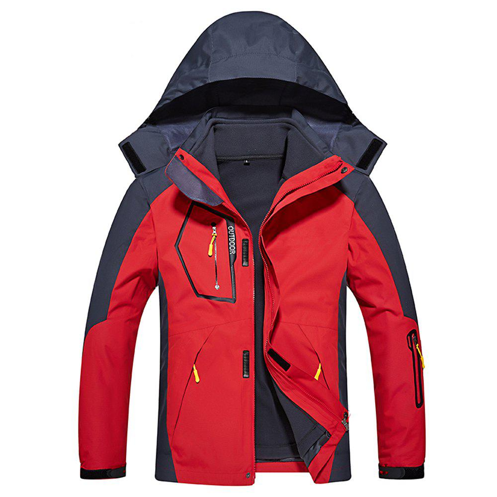 Shops Men's Casual Waterproof Windproof Outdoor Hooded Jacket