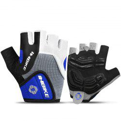 INBIKE Cycling Half Finger Gloves Men Women Mountain Bike 5MM Gel Shock-absorb -