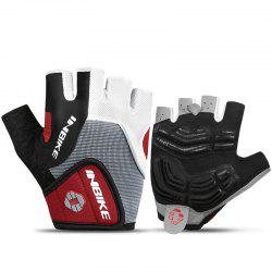 INBIKE Cycling Half Finger Gants Hommes Femmes Mountain Bike 5MM Gel Shock-absorber -