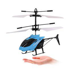 Mini Infrared Sensor Helicopter Aircraft Electric Micro Flying Toy Gift for Kid -