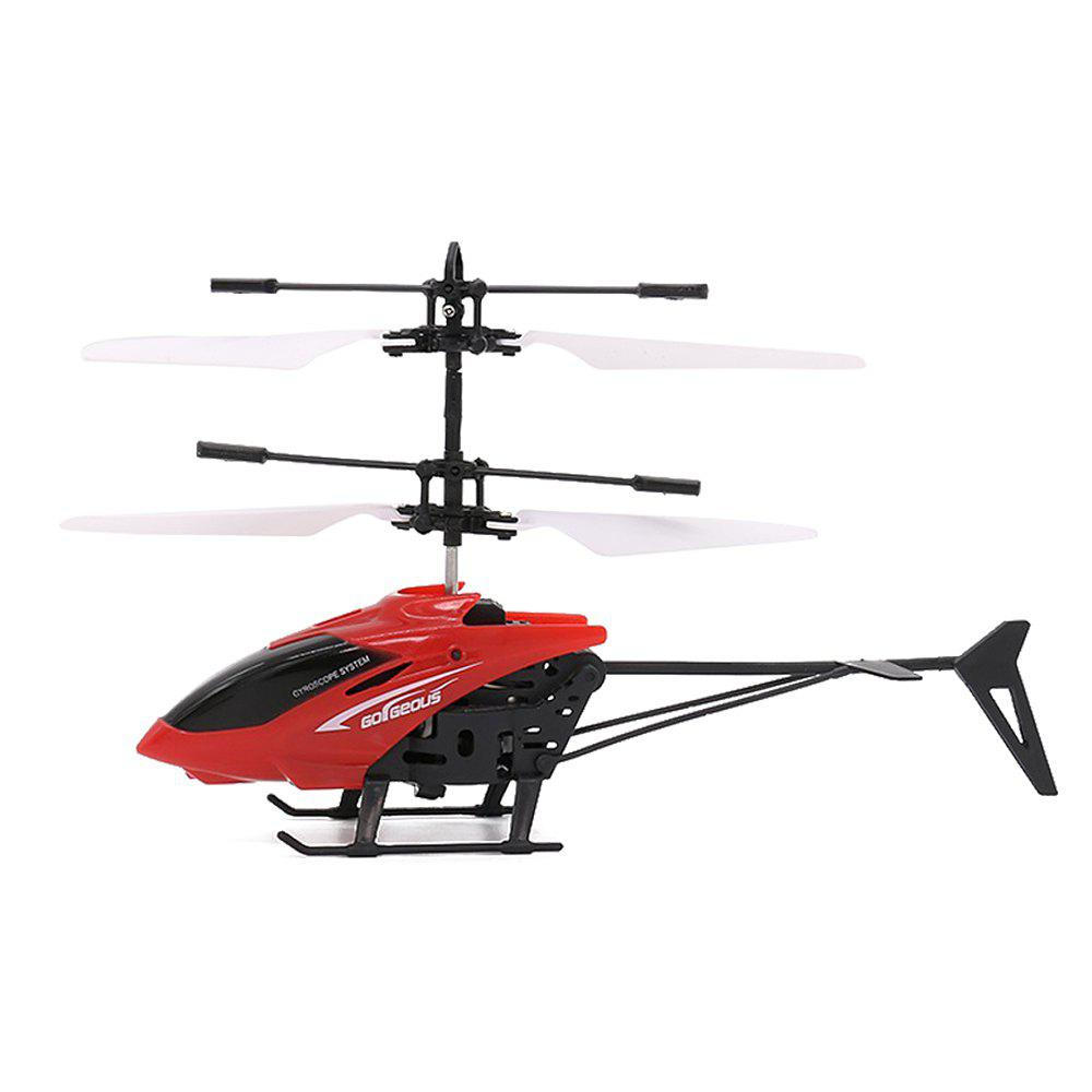 Sale Mini Infrared Sensor Helicopter Aircraft Electric Micro Flying Toy Gift for Kid