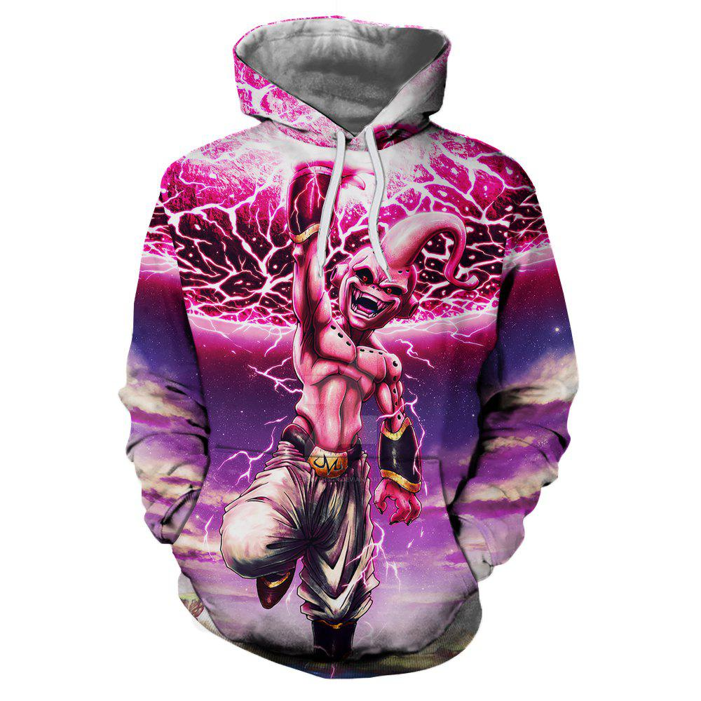 Fancy New Autumn and Winter Characters Series Hooded Sweatshirt