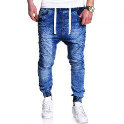 Men's Fashion Casual Loose Jeans -