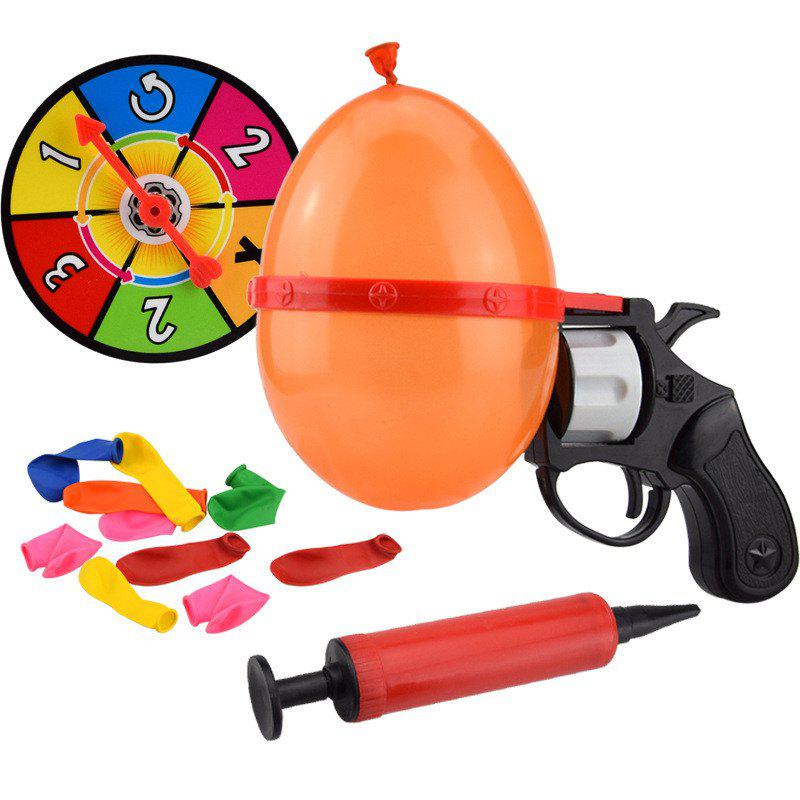 Chic Roulette Gas Ball Gun Water  Kids Outdoor Interesting Toys