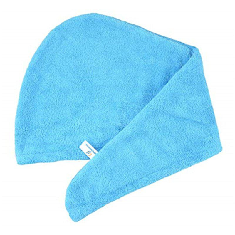 Quickly Dry Hair Hat Microfiber Solid Hair Turban 282766101