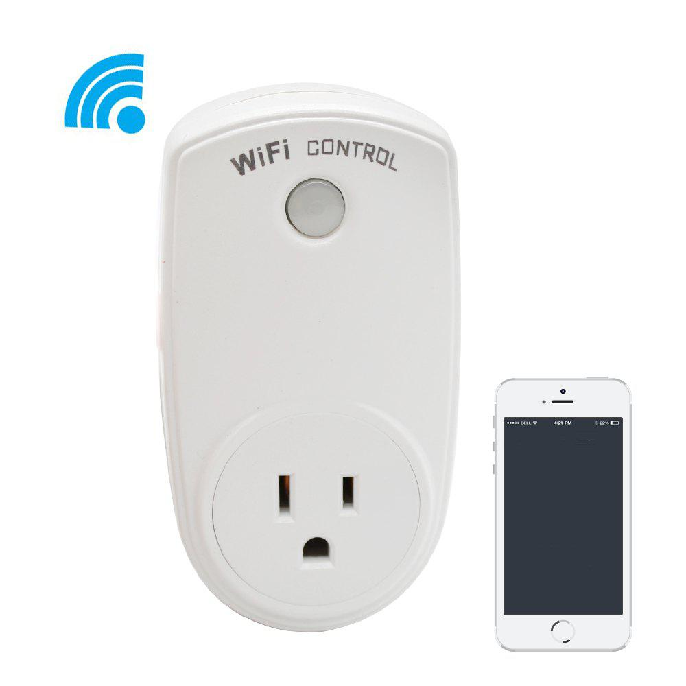 Fashion German-Style Remote Control WiFi Socket