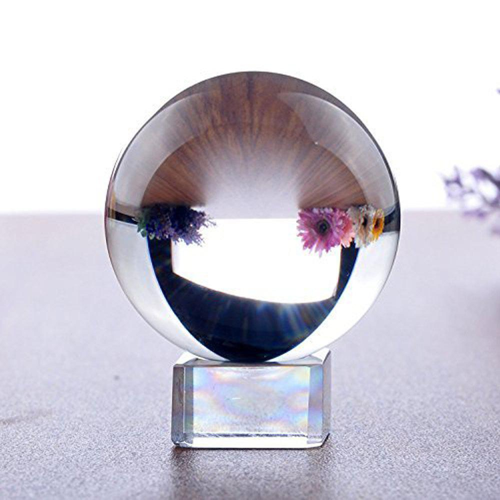 Latest K9 Clear Crystal Ball Globe Suit with Stand for Photography Decoration Lens
