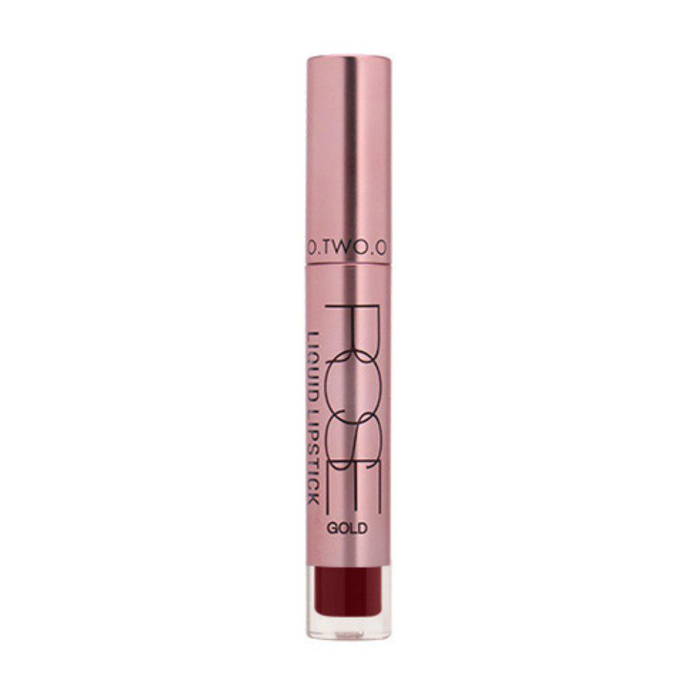 Online OTWOO Moisture Matte Lip Gloss Color Waterproof Lipgloss