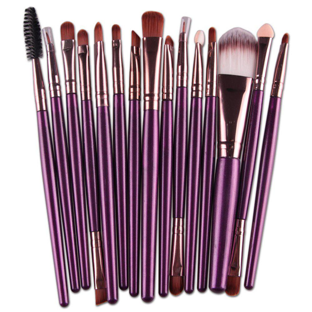 Set de pinceaux de maquillage professionnel 15 PCS