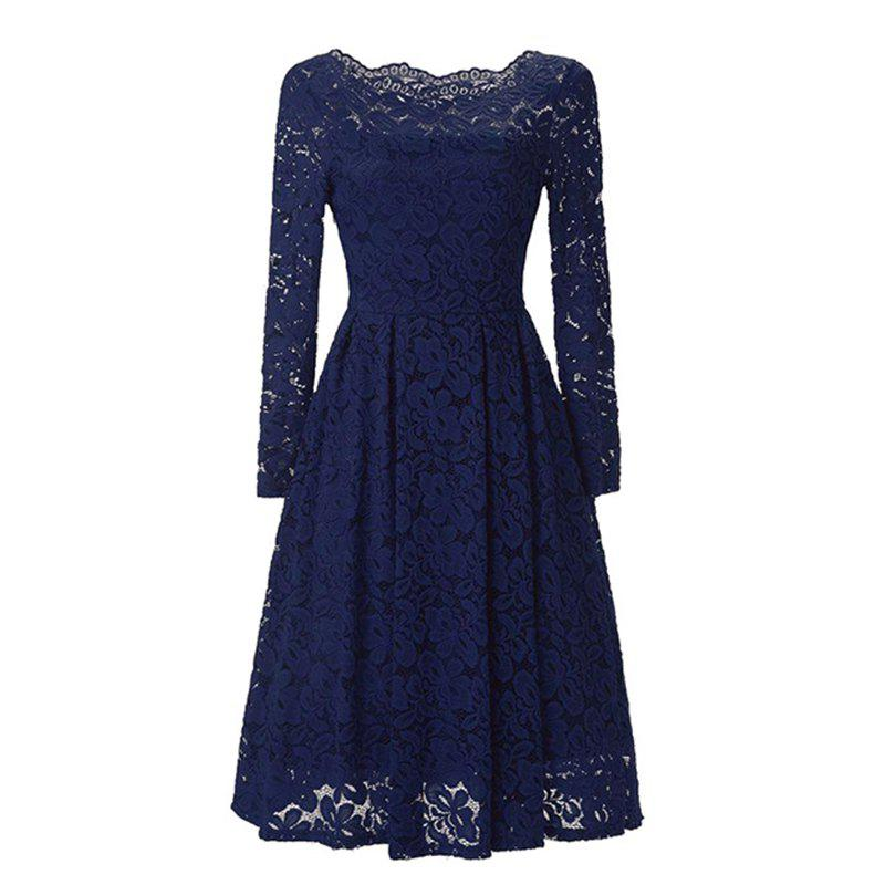Shops Sexy Long Sleeved Lace Dress